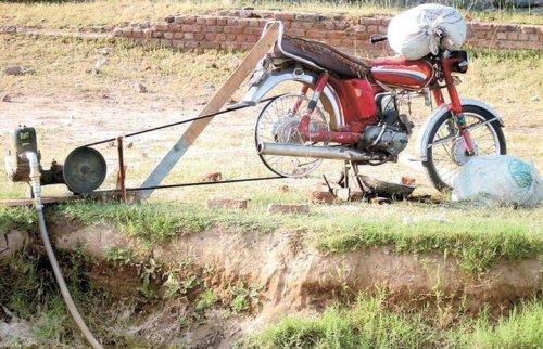 bike-pump-jugaad